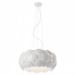 Suspensie  Joy structură din metal vopsită albă, dispersoare din policarbonat vopsit alb lucios 01-730 Redo