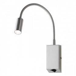 Aplica Hello echipata LED structura metal nichel mat 01-1195 Redo