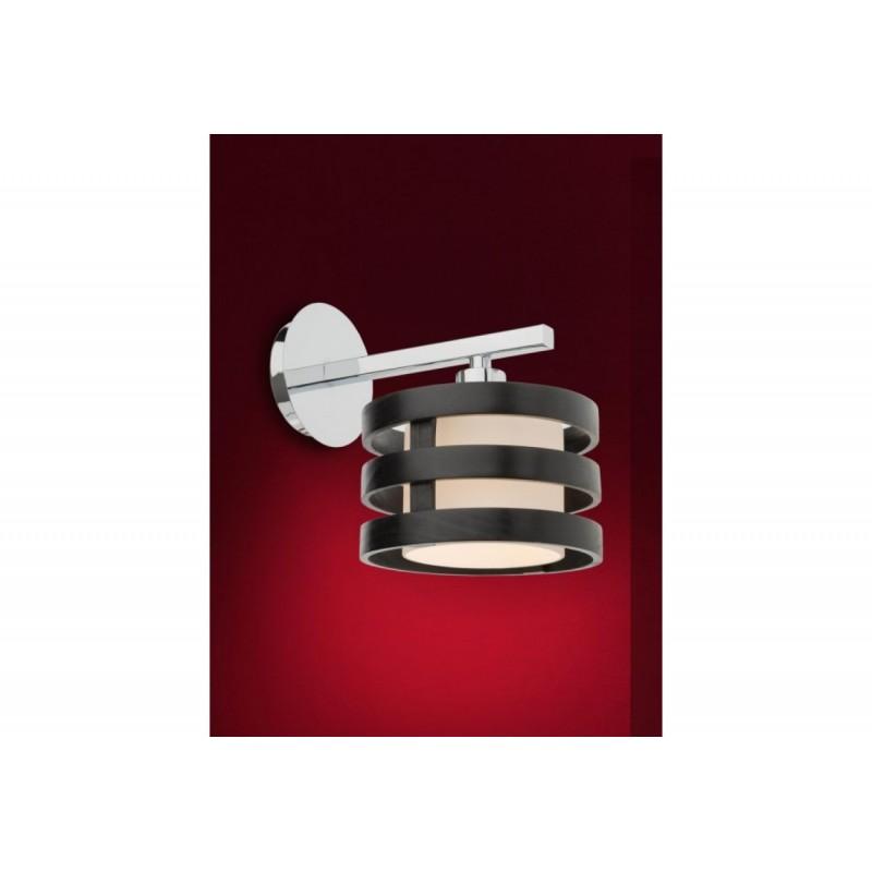 Aplica Kim structura din metal si lemn si abajur din sticla 01-474 Smarter