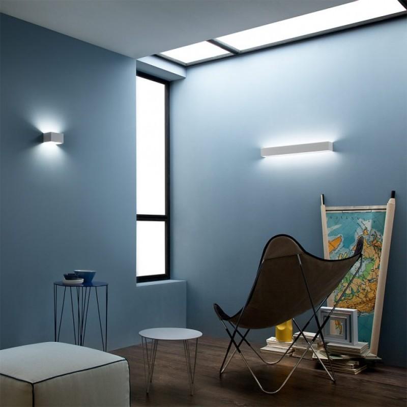 Aplica Avenue echipat cu LED structura metalica alb mat 01-757 Redo