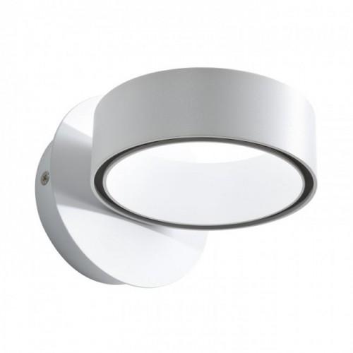 Aplica/Plafoniera Atomo echipata cu LED structura metal alb mat cu negru 01-945 Redo
