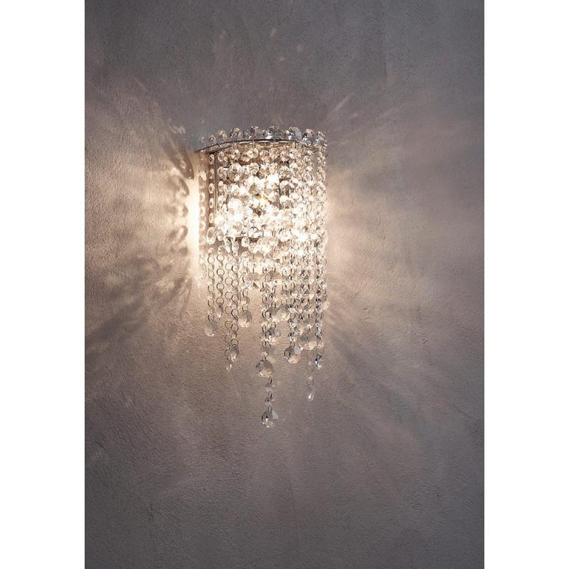 Aplica Trevi structura din metal cromat si cristale ITV W2 10 60 Incanti