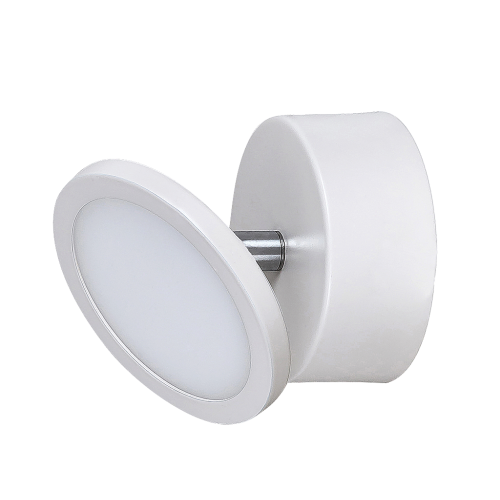 Aplica Elsa structura din metal alb mat cu LED-uri si abajur din plastic 2713 Rabalux