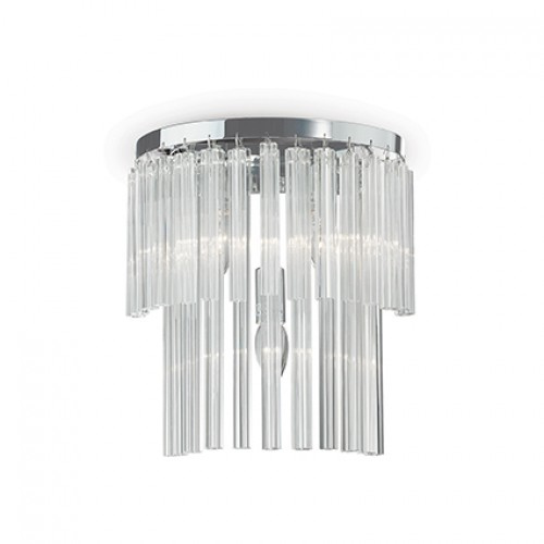 Aplica Elegant structura metalica crom 027975 Ideal Lux