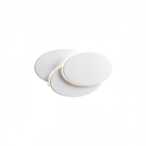 Aplica Gamer din aluminiu cu Led-uri SMD culoare alb mat 01-1445 Redo