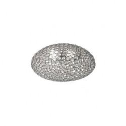 Aplica Lilas structura din metal cromat si cristale ILL W2 10 60 Incanti
