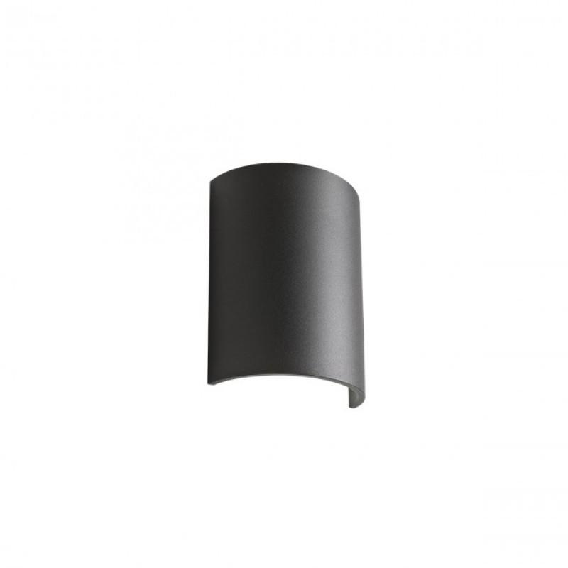 Aplica Match din aluminiu cu Led-uri COB culoare negru mat 01-1448 Redo