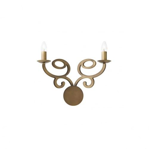 Aplica Medea structura metalica finisaj bronz antic IMD W2 05 Incanti