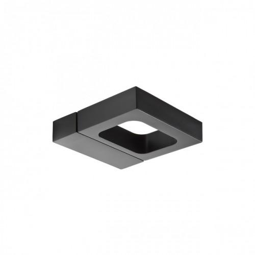 Aplica orientabila Nevis din aluminiu cu Led COB culoare negru mat 01-1316 Redo