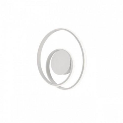 Aplica Redo Torsion - 01-1789 - alb mat, LED, 26W, 1690 lumeni, alb cald 3000K