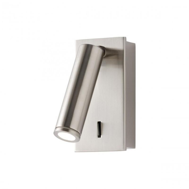 Aplica Rod pentru interior echipata cu LED COB structura din metal finisat nichel mat 01-1203 Redo