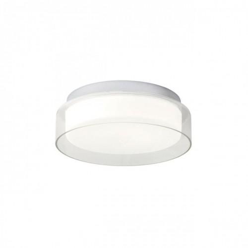 Plafonieră  Naji echipată cu LED-uri SMD, protejată la umiditate, structură din metal cromat
