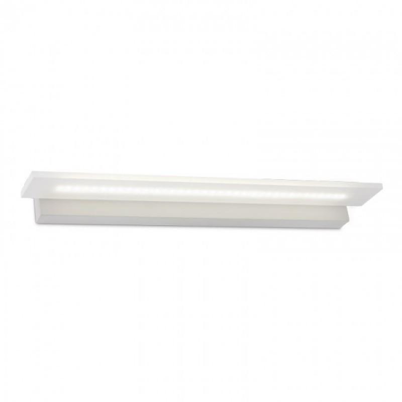 Aplică  Well pentru interior echipată cu LED-uri SMD, structură din metal vopsită în câmp electrostatic în culoare alb mat 01-778 Redo