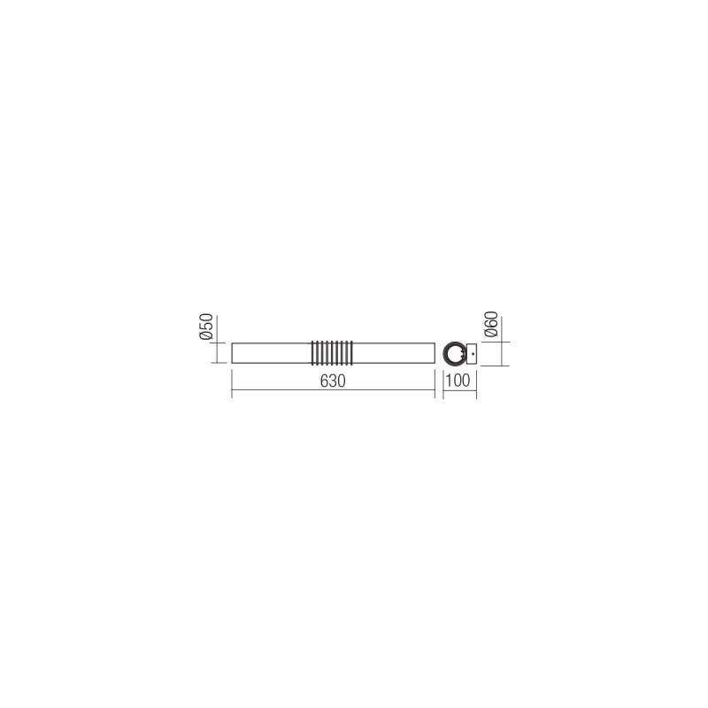 Aplica Led SMD Avance structura din metal cromat 01-1431 Smarter