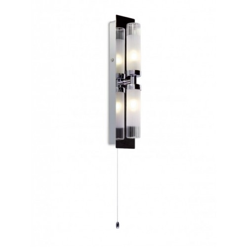Aplica Polo protejata de umiditate structura din metal cromat 01-096 Smarter
