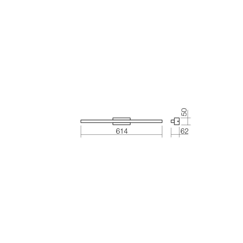 Aplica Led SMD Visor protejată la umiditate 01-1427 Smarter