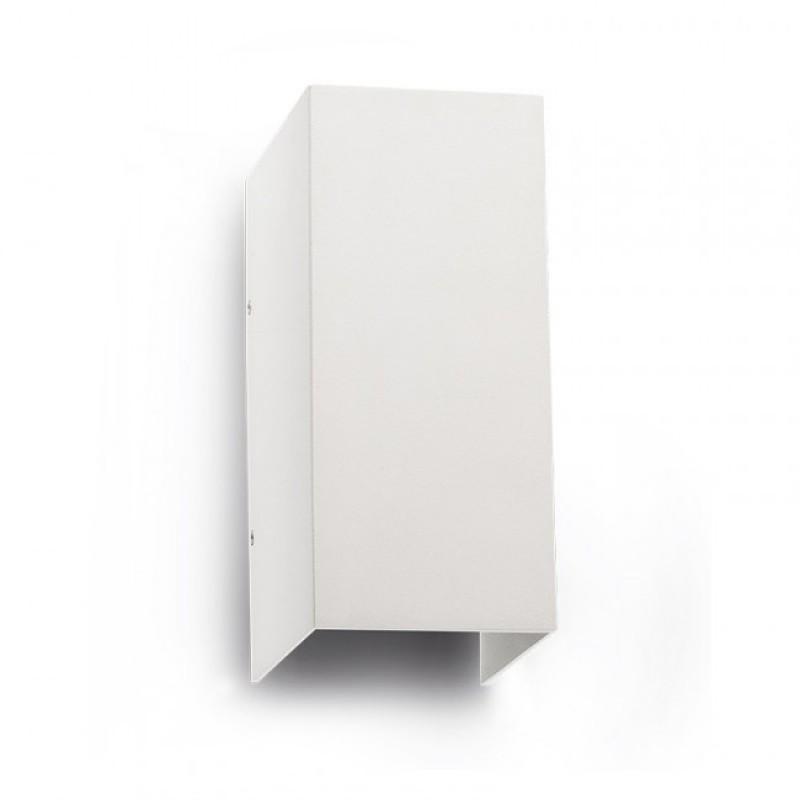 Aplica Led pentru exterior Vary din aluminiu alb mat 9137 Redo