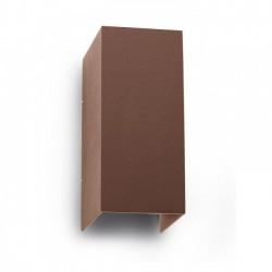 Aplica Led pentru exterior Vary din aluminiu maron inchis 9139 Redo