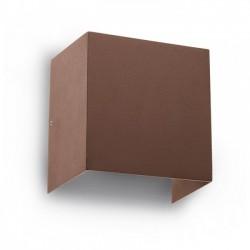Aplica Led pentru exterior Vary din aluminiu maron inchis 9142 Redo