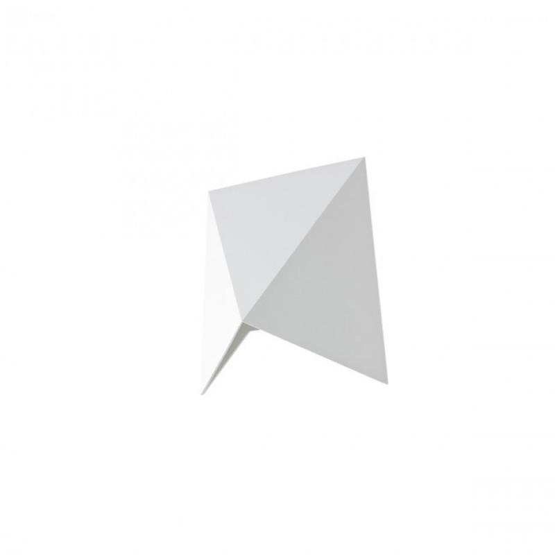 Aplică Kiko pentru exterior echipată cu LED COB, corp din aluminiu turnat sub presiune vopsit în câmp electrostatic alb mat 9517 Redo Outdoor