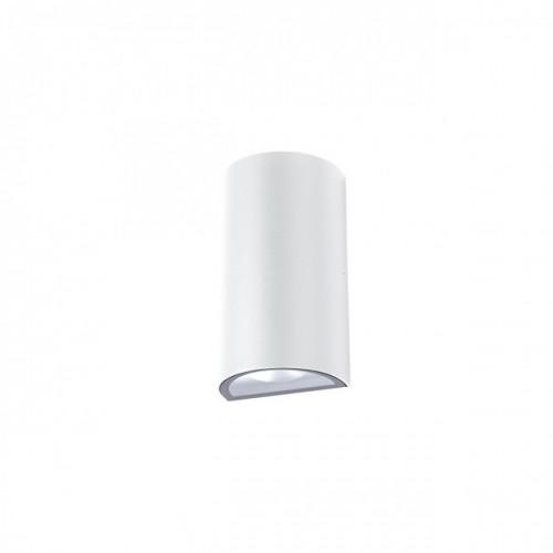 """Aplică  Zip pentru exterior echipată cu LED-uri COB, emisie luminoasă directă/indirectă cu efect de lumină """"wall washer"""" 9522 Redo Outdoor"""