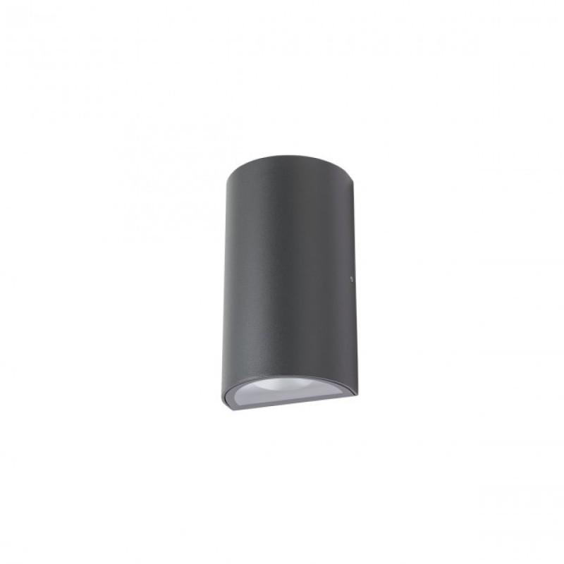 """Aplică  Zip pentru exterior echipată cu LED-uri COB, emisie luminoasă directă/indirectă cu efect de lumină """"wall washer"""" 9523 Redo Outdoor"""