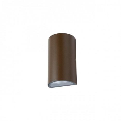 """Aplică  Zip pentru exterior echipată cu LED-uri COB, emisie luminoasă directă/indirectă cu efect de lumină """"wall washer"""" 9524 Redo Outdoor"""