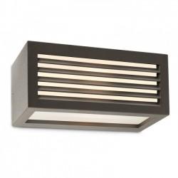 Aplica pentru exterior Brick din aluminiu gri inchis 9898 Redo