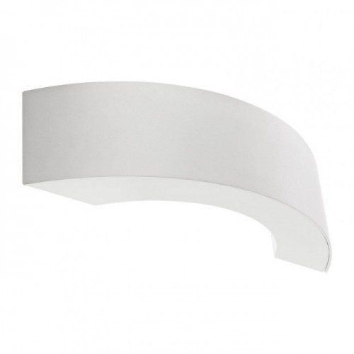 Aplica Led pentru exterior Eclipse din aluminiu alb mat 9902 Redo