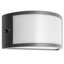 Aplica exterior LED Asti 90185, 10W, 655lm, lumina calda, IP54, gri, Smarter