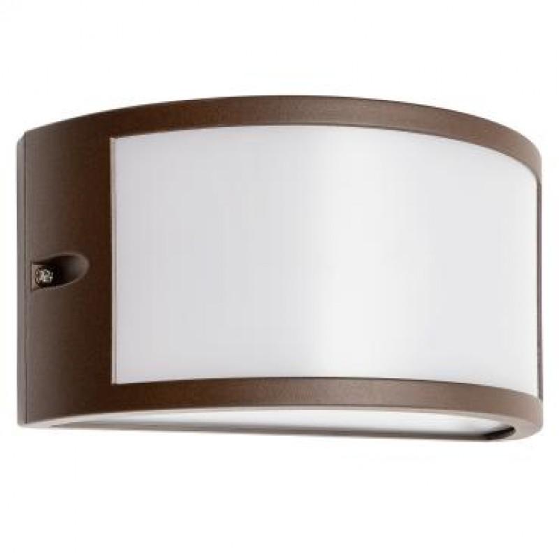 Aplica exterior LED Asti 90186, 10W, 655lm, lumina calda, IP54, maro, Smarter