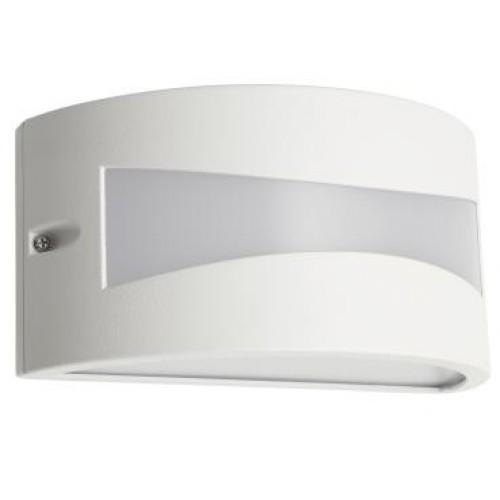 Aplica exterior LED Asti 90187, 10W, 610lm, lumina calda, IP54, alba, Smarter