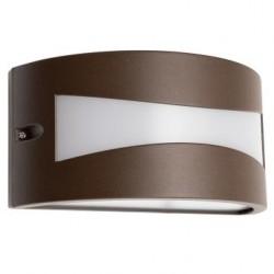 Aplica exterior LED Asti 90189, 10W, 610lm, lumina calda, IP54, maro inchis, Smarter