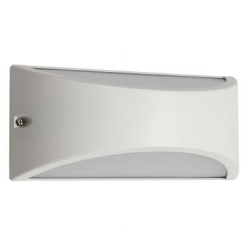 Aplica LED Scudo 90190, 10W, lumina calda, IP54, alb mat, Smarter