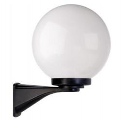 Aplica pentru exterior Sfera 9789, 1 x E27, opal, D 250 mm, Smarter