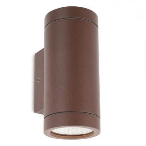 Aplica exterior cu LED Vince 9454, 2 x 3W, cu senzor, maro, Smarter