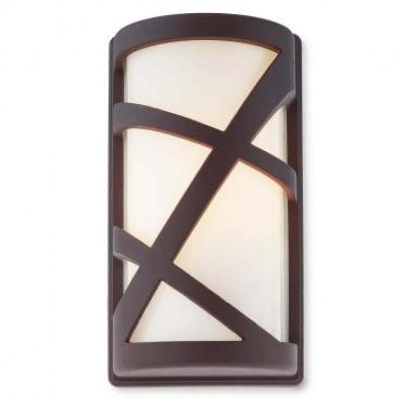Aplica pentru exterior Vortex 9097, 1 x E27, maro inchis, Smarter