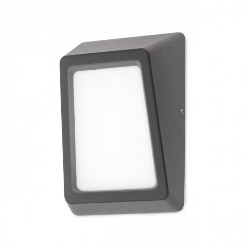 Aplică Arges cu LED pentru exterior, corp din aluminiu de culoare gri inchis 9165 Redo Outdoor