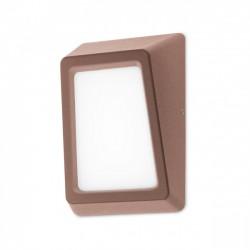 Aplică Arges cu LED pentru exterior, corp din aluminiu de culoare ruginie 9166 Redo Outdoor
