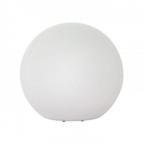 Corp decorativ exterior Baloo forma sferica din polietilena alba rezistenta la raze UV E27 9965 Redo