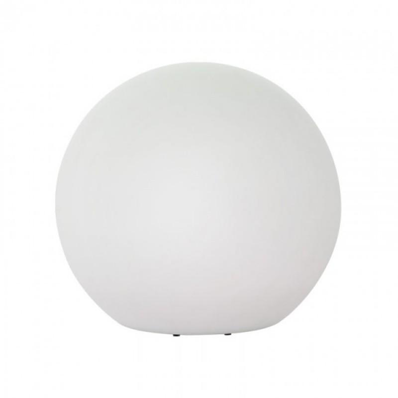 Corp decorativ exterior Baloo forma sferica din polietilena albă rezistenta la raze UV 9971 Redo