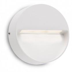 Aplica Led SMD pentru exterior Even din aluminiu alb mat 9148 Redo