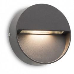 Aplica Led SMD pentru exterior Even din aluminiu gri inchis 9149 Redo