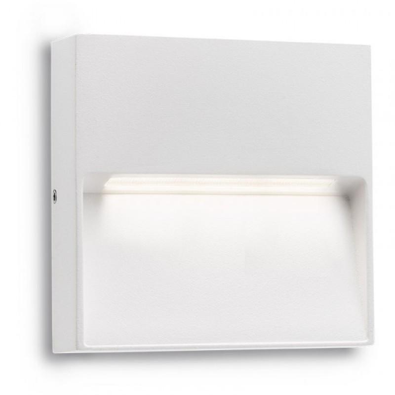 Aplica Led SMD pentru exterior Even din aluminiu alb mat 9150 Redo