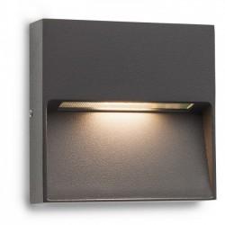 Aplica Led SMD pentru exterior Even din aluminiu gri inchis 9151 Redo