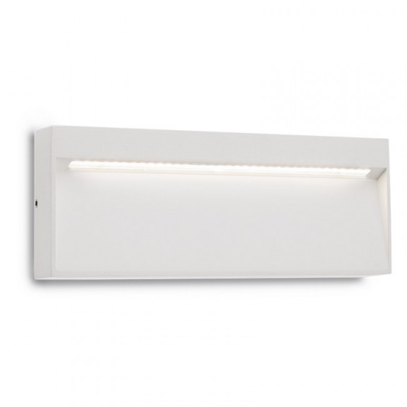 Aplica Led SMD pentru exterior Even din aluminiu alb mat 9152 Redo