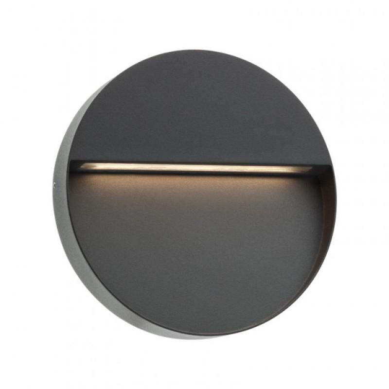 Aplica Led SMD pentru exterior Even din aluminiu gri inchis 9624 Redo
