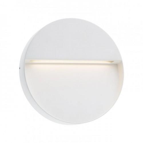 Aplica Led SMD pentru exterior Even din aluminiu alb mat 9626 Redo