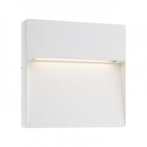 Aplica Led SMD pentru exterior Even din aluminiu alb mat 9627 Redo