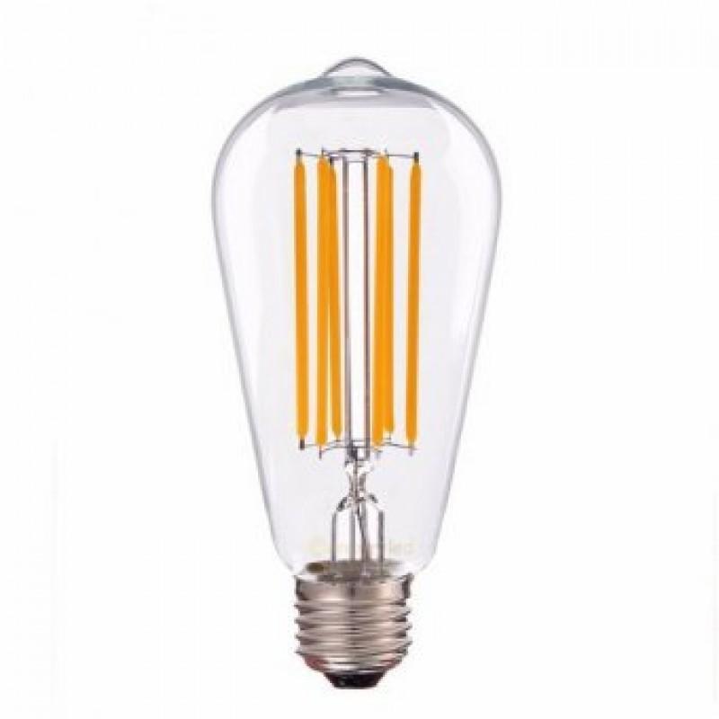 Bec decorativ LED COG 10W AVOCADO E27 LUMEN